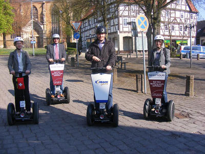 SEGWAY®-Tour durch Korbach