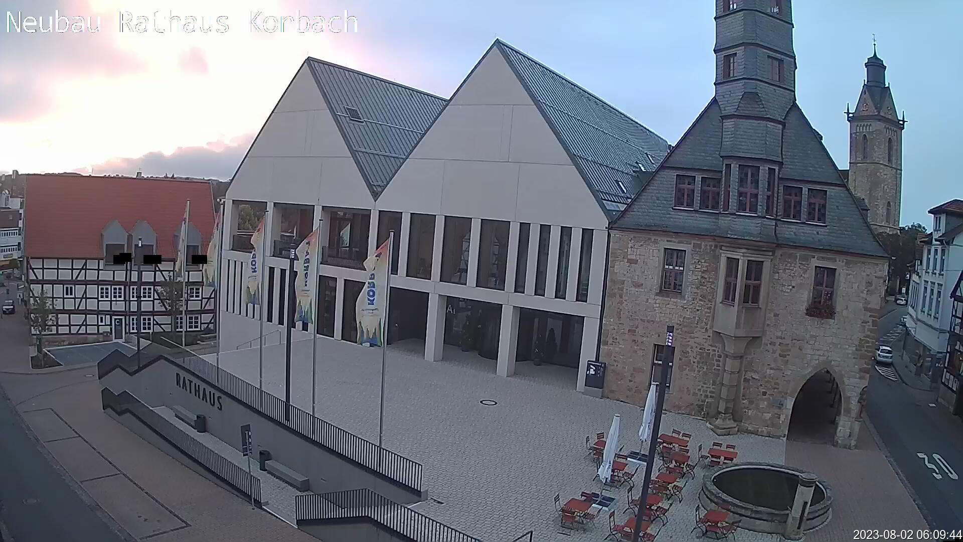 Bildvergrößern: Webcam Rathausneubau